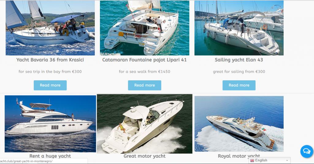 site3 сайт по аренде яхт 3-2